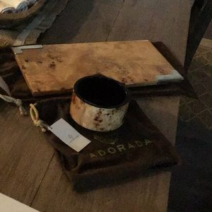 Ladorada burl tray, small. Burl bowl